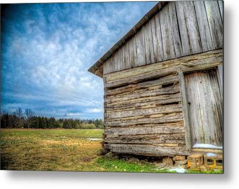 Old Metal Print featuring the photograph This Old House by Micah Goff