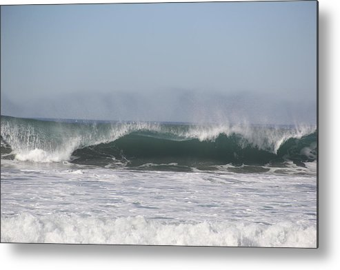 Waves Metal Print featuring the photograph Thunder On The Water by Horst Duesterwald
