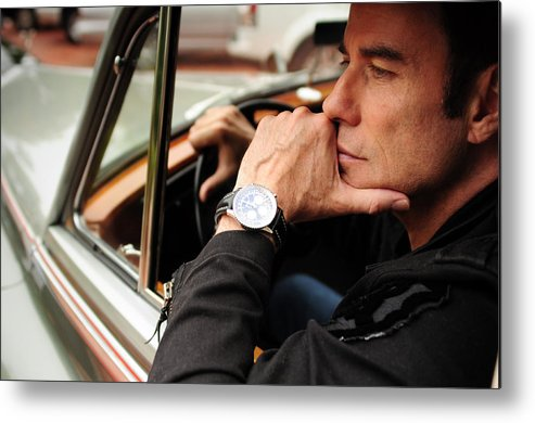 John Travolta Metal Print featuring the photograph Time Will Tell by Rav Holly