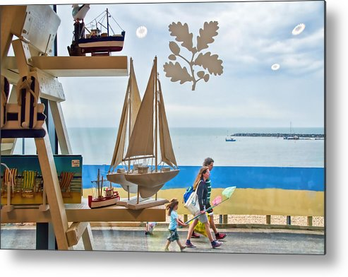 Shop Metal Print featuring the photograph To The Beach by Susie Peek