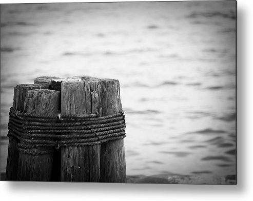 Ocean Metal Print featuring the photograph Together by Toni Hopper