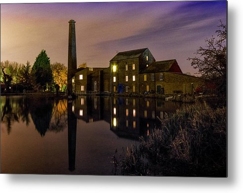 Tonge Metal Print featuring the photograph Tonge Mill by Ian Hufton