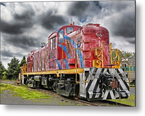 Train Metal Print featuring the photograph Train From The 60's by Duane Angles
