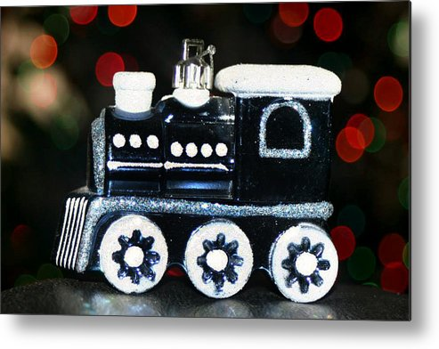 Trains Metal Print featuring the photograph Train Ornament by Mechala Matthews