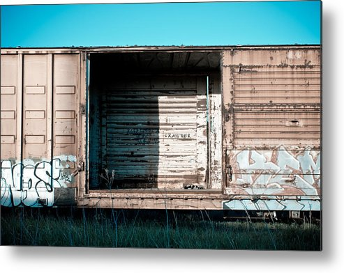 Train Metal Print featuring the photograph Trains 15 by Niels Nielsen