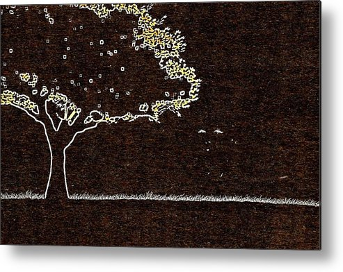 Marilyn Metal Print featuring the photograph Tree by HollyWood Creation By linda zanini