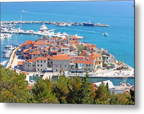 Adriatic Metal Print featuring the photograph Tribunj Place On The Islet by Borislav Marinic