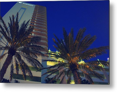 Daytona Florida Metal Print featuring the photograph Tropical Spot by Laurie Perry