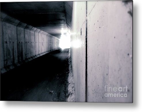 Tunnel Metal Print featuring the photograph Tunnel Vision by Jacqueline Athmann