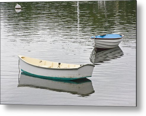 Boat Metal Print featuring the photograph Two Boats 2 by Dennis Coates