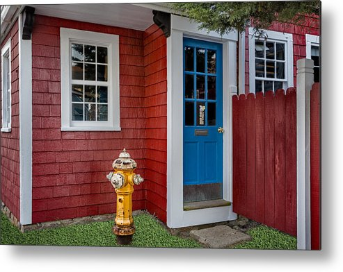 Bear Skin Neck Metal Print featuring the photograph Typical Rockport Massachusetts by Susan Candelario