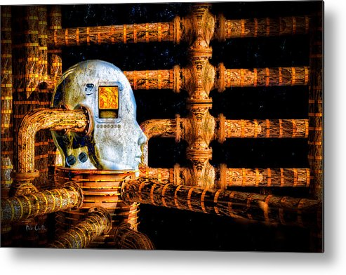 Surreal Metal Print featuring the digital art Universal Mind by Bob Orsillo