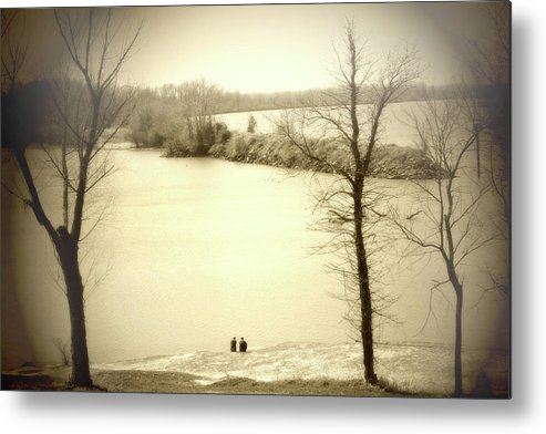 Trees Metal Print featuring the photograph Unspoken by Nina Fosdick