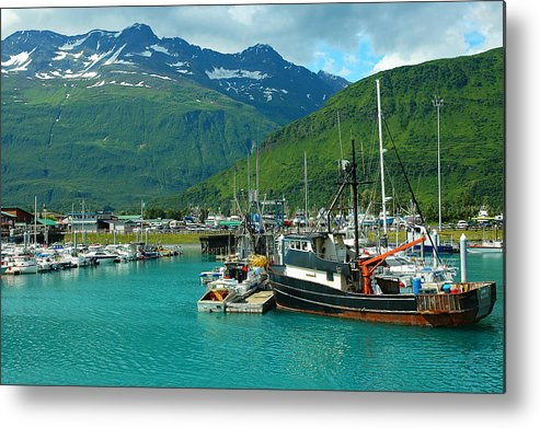 Alaska Metal Print featuring the photograph Valdez Harbor by Nick Boren