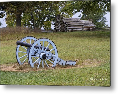 Battle Metal Print featuring the photograph Valley Forge 2 by Season Bonner