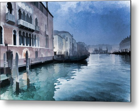Rialto Bridge Metal Print featuring the photograph Venice Beauty by Indiana Zuckerman