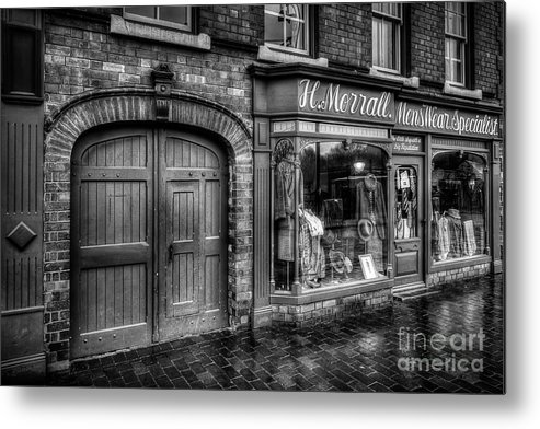 Alley Metal Print featuring the photograph Victorian Menswear by Adrian Evans