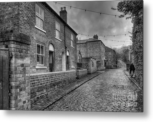 Alley Metal Print featuring the photograph Victorian Street by Adrian Evans