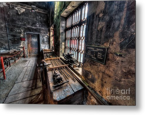 Architecture Metal Print featuring the photograph Victorian Workshops by Adrian Evans