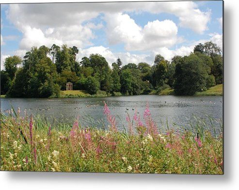 Metal Print featuring the photograph View At Bowood by Stuart Kerr