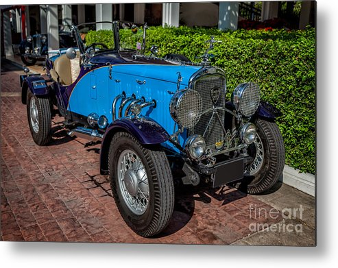 201 Metal Print featuring the photograph Vintage Peugeot 201 by Adrian Evans