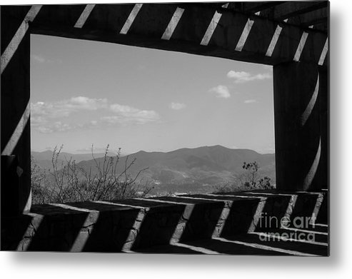 Landscape Metal Print featuring the photograph Vista Zapoteca by Mychelle Tremblay