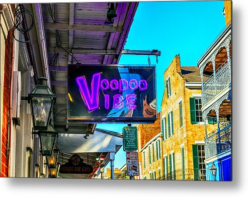 the Big Easy Metal Print featuring the photograph Voodoo Vibe by Sennie Pierson