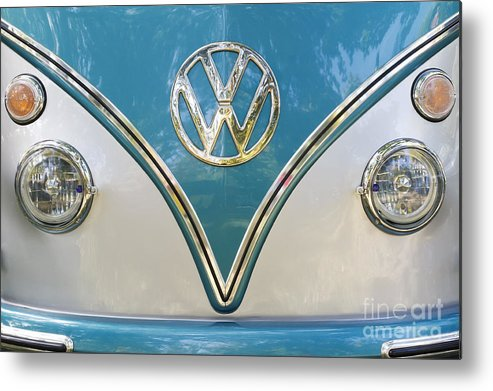 Volkswagen Metal Print featuring the photograph VW by Dennis Hedberg