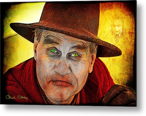 Evil Metal Print featuring the photograph Wanna Be Friends? by Chuck Staley