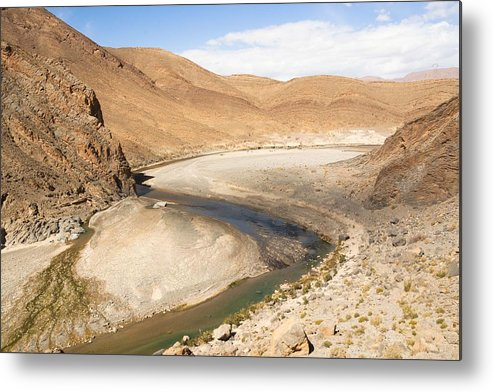 Mountain Metal Print featuring the photograph Water Snake by Renato Sensibile