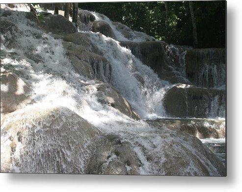 Water Fall Metal Print featuring the photograph Waterfall by Dervent Wiltshire