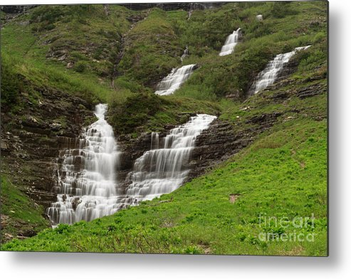 Waterfalls Metal Print featuring the photograph Waterfalls Galore by Charles Kozierok