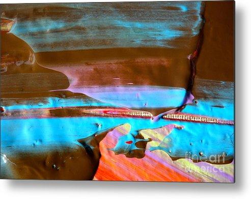 Paint Metal Print featuring the photograph Wet Paint 73 by Jacqueline Athmann