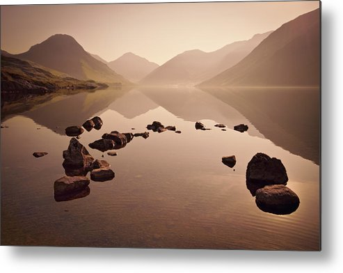 Dawn Metal Print featuring the photograph Wetlands Mornings by Evelina Kremsdorf