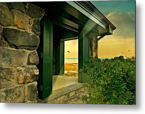 Landscape Metal Print featuring the photograph Where The World Turns by Diana Angstadt