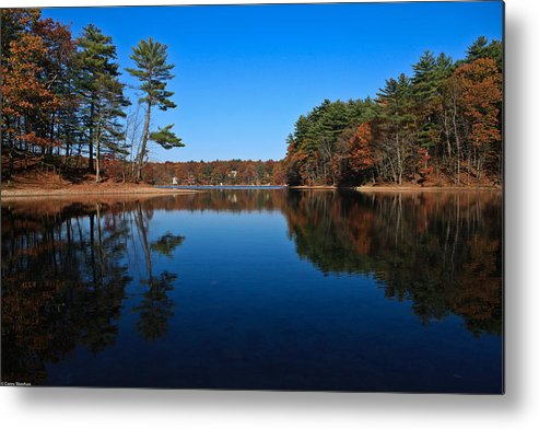 Pond Metal Print featuring the photograph Whites Pond by Corey Sheehan
