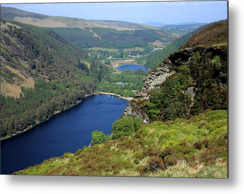 Ireland Metal Print featuring the photograph Wicklow Mountains by Aidan Moran