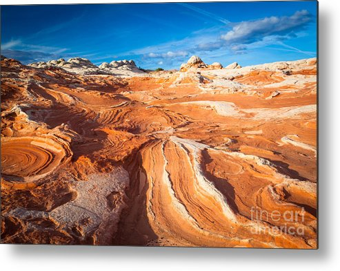 America Metal Print featuring the photograph Wild Sandstone Landscape by Inge Johnsson