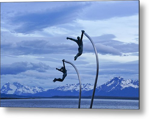 Chile Metal Print featuring the photograph Wind Dancers by Michele Burgess