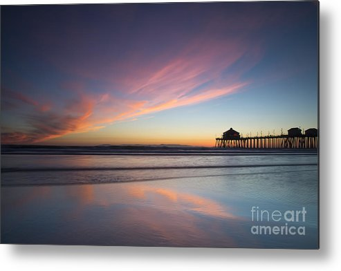 Sunset Metal Print featuring the photograph Winter Sunset by Patrice Dwyer