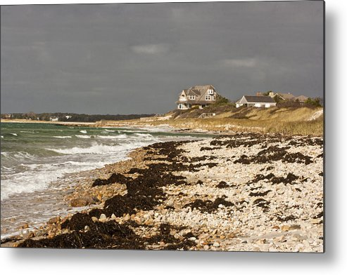 Woodneck Beach Metal Print featuring the photograph Woodneck Beach by Dennis Coates