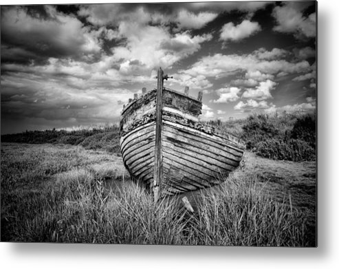Wreck Metal Print featuring the photograph Wreck by Ian Merton