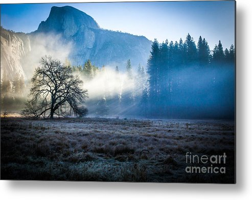 Half Dome Metal Print featuring the photograph Yosemite Valley by Misty Tienken
