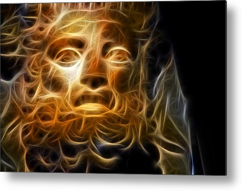 Zeus Metal Print featuring the photograph Zeus by Taylan Apukovska