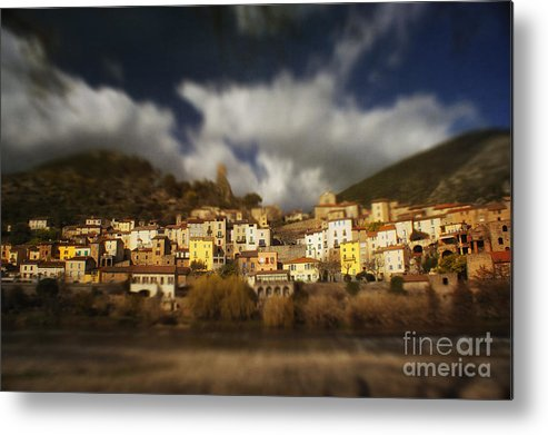 Roquebrun Metal Print featuring the photograph Roquebrun by Paul Grand