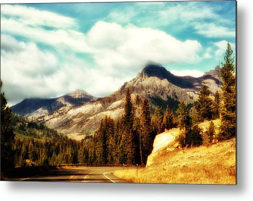 Mountain Metal Print featuring the photograph A Mountain Drive by Kelly Reber