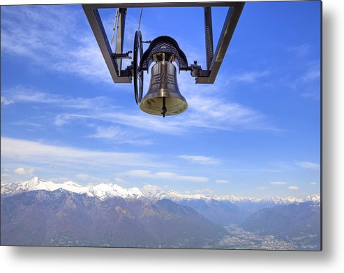 Bell Metal Print featuring the photograph Bell In Heaven by Joana Kruse