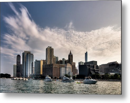 2011. Sony Metal Print featuring the photograph Chicago by Victor Garza