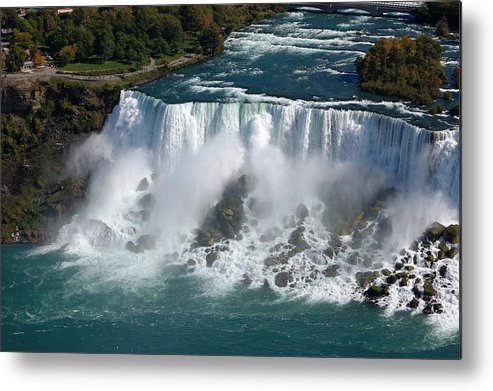 Niagara Metal Print featuring the photograph Niagara Overview by Meeli Sonn