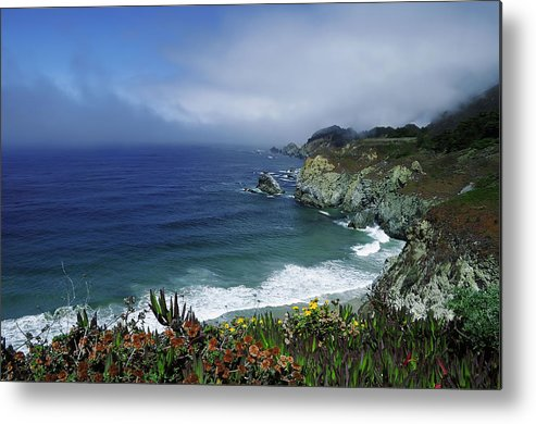 Pacific Metal Print featuring the photograph Pacific Coast by Renee Hardison